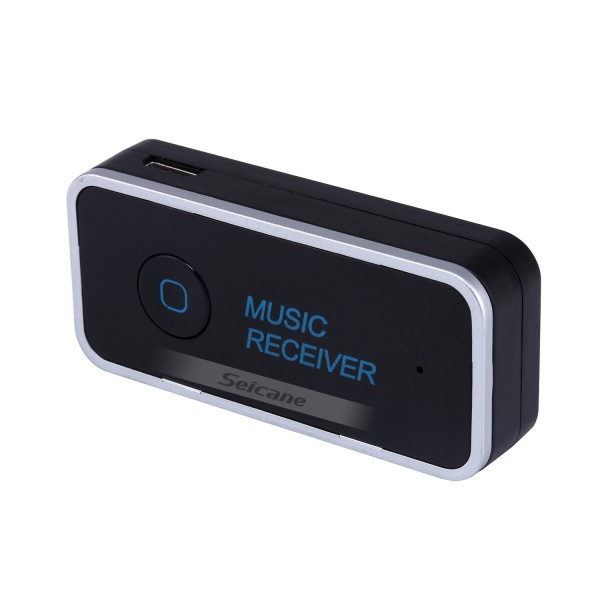 Universal Portable Car Audio Reciver Hands-free Bluetooth Music Receiver Compatible For IPhone Pad Android PC