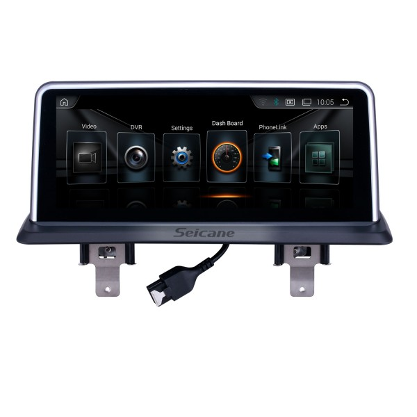 10.25 Inch HD Touchscreen Android 9.0 Head Unit For 2006-2012 BMW E87 CIC Car Stereo Radio GPS Navigation System Bluetooth Phone Support 1080P Video OBDII DVR Steering Wheel Control WIFI