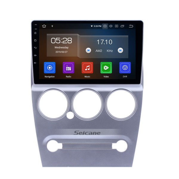 Android 10.0 9 inch GPS Navigation Radio for 2008-2013 Citroen Elysee with HD Touchscreen Carplay Bluetooth support Digital TV