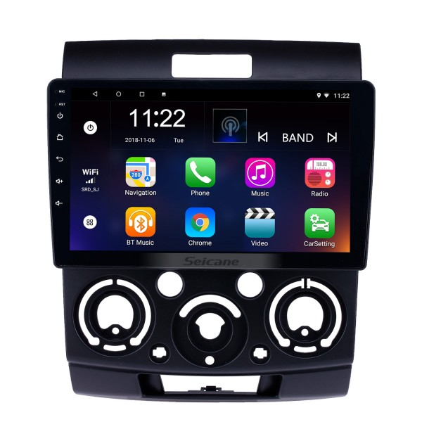 Android 8.1 9 inch Touchscreen GPS Navigation Radio for 2006-2010 Ford Everest/Ranger with Bluetooth USB WIFI AUX support Backup camera Carplay SWC