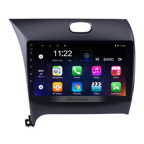 9 Inch HD 1024*600 Touchscreen Android 10.0 GPS Navigation Radio for 2013-2016 KIA K3 CERATO FORTE with Bluetooth USB WIFI OBD2 Mirror Link Rearview Camera 1080P Video