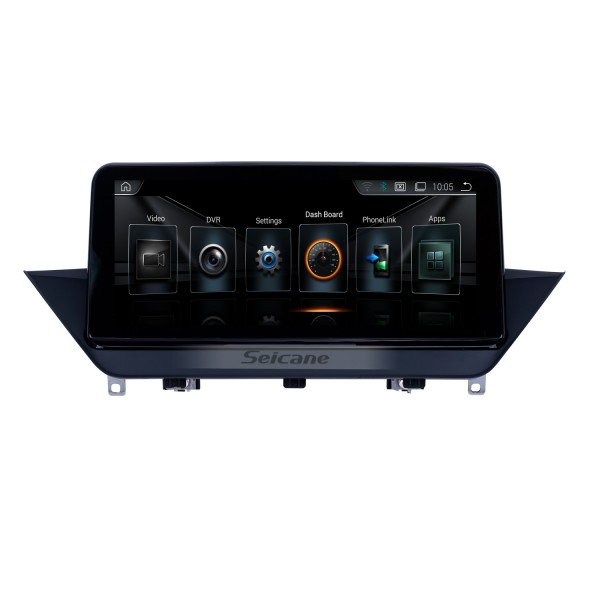10.25 inch Android 9.0 for BMW X1 E84(2009-2015) CIC Radio GPS Navigation System With HD Touchscreen Bluetooth support Carplay DVR