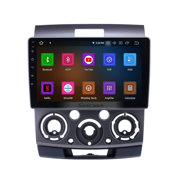 2006-2010 Ford Everest/Ranger Mazda BT-50 Android 9.0 9 inch GPS Navigation Radio Bluetooth HD Touchscreen Carplay support Backup camera