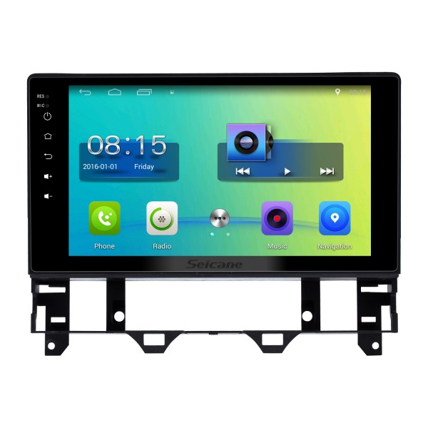 10.1 inch HD Touch Screen Android 6.0 Radio for 2003-2008 Old Mazda 6 with GPS Navigation Audio system 1080P Video Bluetooth Music 3G WIFI USB OBD2 Mirror Link