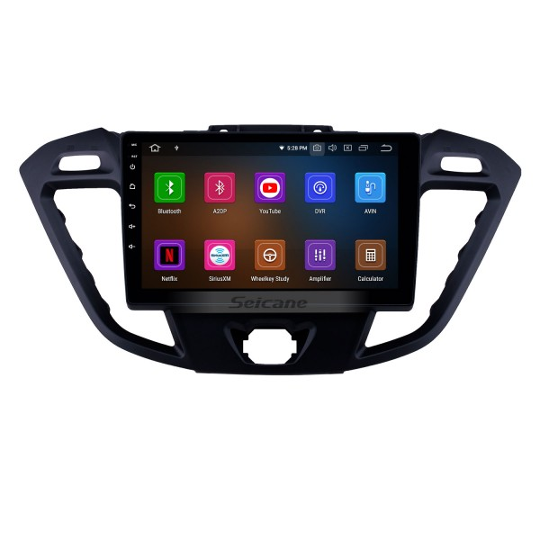 9 inch Android 9.0 Radio for 2017 Ford JMC Tourneo Low Version with GPS Navi HD Touchscreen Bluetooth Carplay Audio support SWC DVD Playe 4G WIFI TPMS OBD
