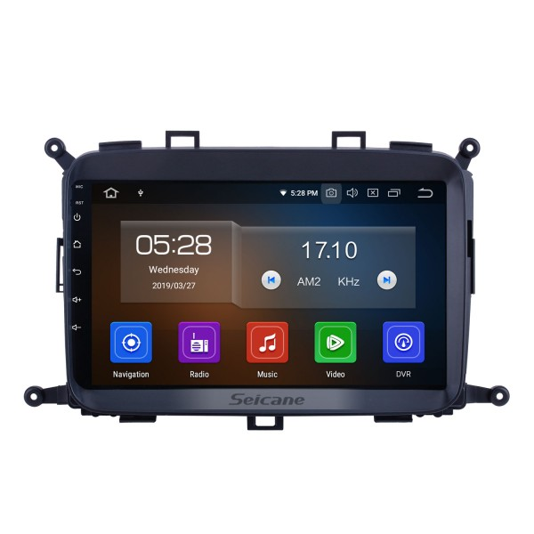 For 2014 2015 2016 2017 Kia Carens Radio 9 inch Android 10.0 HD Touchscreen Bluetooth with GPS Navigation System Carplay support 1080P Video