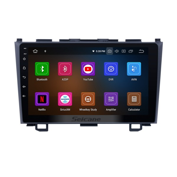 Android 11.0 GPS DVD Player for 2006 2007 2008-2011 Honda CRV Navigation system Support USB SD Bluetooth 3G WIFI Aux Rearview Camera Mirror Link OBD2 DVR