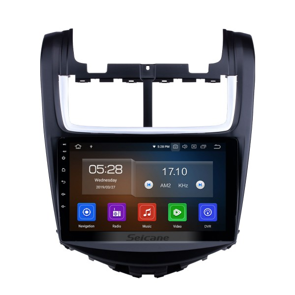 9 inch 2014 Chevy Chevrolet Aveo HD Touch Screen GPS Radio Replacement Navigation Bluetooth Music WiFi TV Tuner support DVR AUX DVD Player 3G Steering Wheel Control