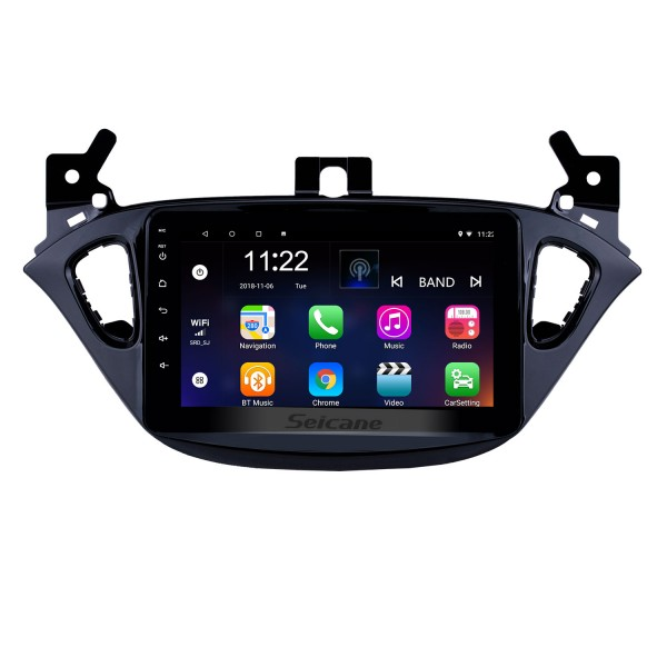 8 inch Android 8.1 Radio for 2015-2019 Opel Corsa/2013-2016 Opel Adam Bluetooth HD Touchscreen GPS Navigation AUX support Carplay Backup camera DVR