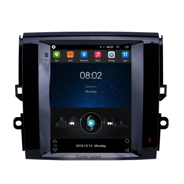 9.7 inch Android 9.1 2013 Toyota Reiz GPS Navigation Radio with HD Touchscreen Bluetooth Music support Carplay Mirror Link