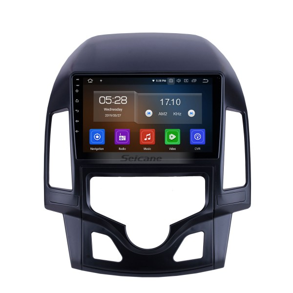 Android 10.0 For 2008 2009 2010 2011 Hyundai i30 LHD Auto A/C Radio 9 inch GPS Navigation System Bluetooth HD Touchscreen Carplay support SWC