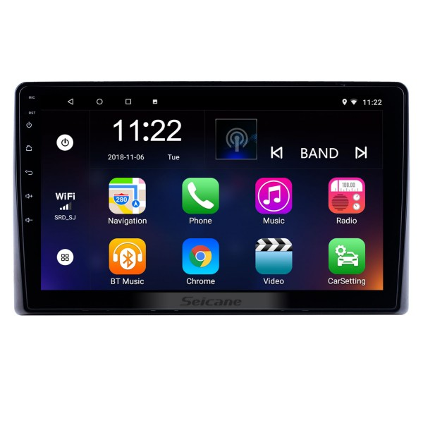 10.1 inch Android 10.0 for 2019 Toyota Previa Radio GPS Navigation System With HD Touchscreen Bluetooth support Carplay Rear camera