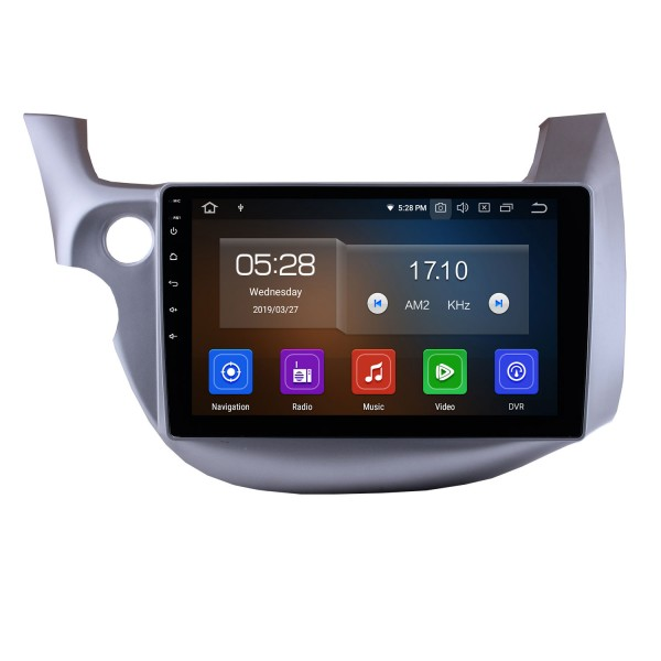 10.1 inch Android 9.0 GPS  Radio Car Stereo for 2007-2013 Honda FIT left hand driver WIFI Bluetooth Mirror Link  HD 1024*600 Touch Screen SWC Navigation System OBD2 DVR  Rearview Camera TV USB 1080P Video