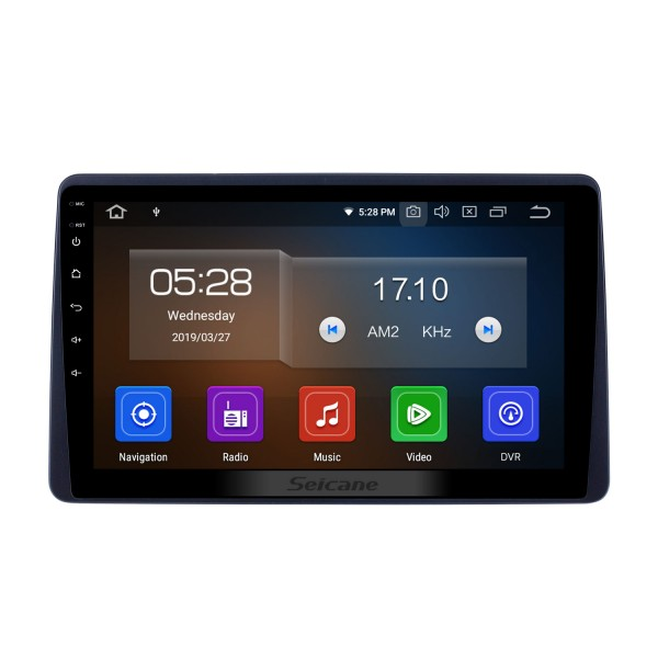 10.1 inch Android 9.0 GPS Navigation Radio for 2018 Renault Duster Bluetooth HD Touchscreen AUX Carplay support Backup camera