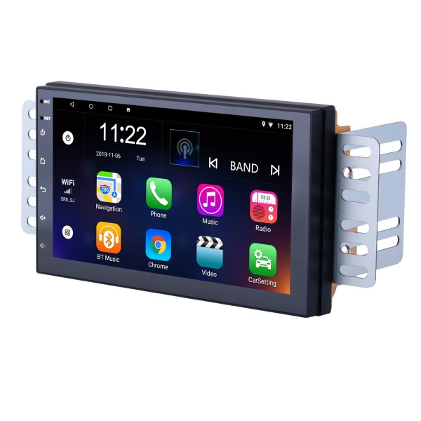Android 8.1 Universal Toyota Hyundai Kia Nissan Volkswagen Suzuki Honda Radio GPS Navigation with Bluetooth USB WIFI Support Rearview Camera