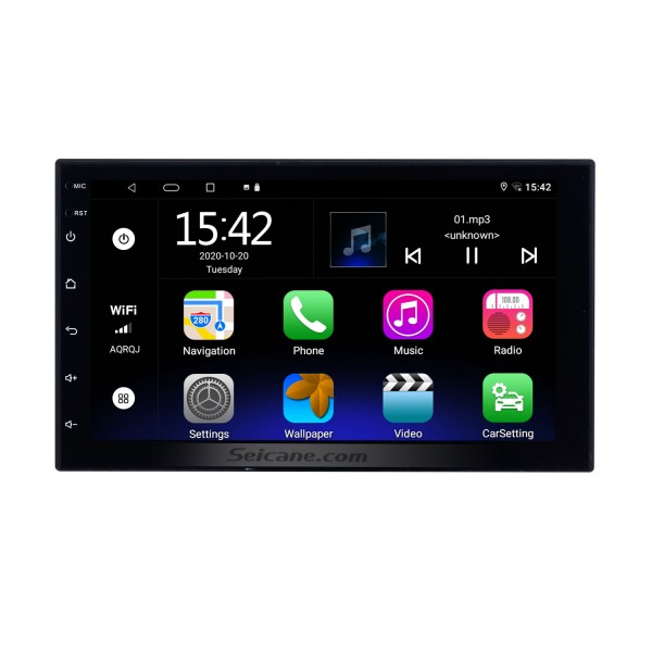 Android 10.0 Universal Toyota Hyundai Kia Nissan Volkswagen Suzuki Honda Radio GPS Navigation with Bluetooth USB WIFI Support Rearview Camera
