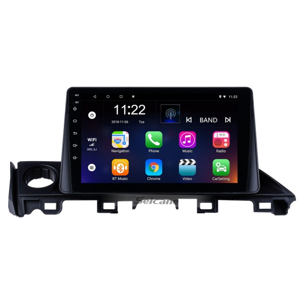 9 inch HD Touch Screen 2017 Mazda ATENZA Android 8.1 Radio GPS Navigation system with Bluetooth USB 3G WIFI OBD2 Mirror Link Rearview Camera