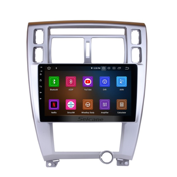 2006-2013 Hyundai Tucson 10.1 inch HD Touchscreen Android 9.0 GPS Navigation System Head Unit Bluetooth Wifi Radio SWC Mirror Link USB Carplay support OBD2 TPMS