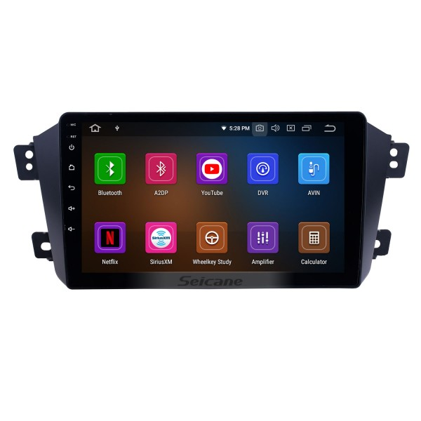 Android 9.0 For 2012 2013 2014 Geely GX7 Radio 9 inch GPS Navigation System Bluetooth HD Touchscreen USB Carplay support DVR SWC