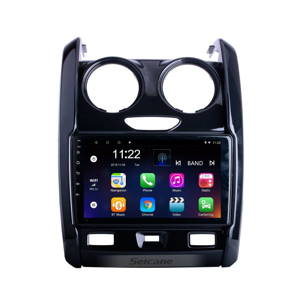 For 2015 2016 2017-2020 Renault Duster Radio 9 inch Android 10.0 HD Touchscreen GPS Navigation System with Bluetooth support Carplay OBD2