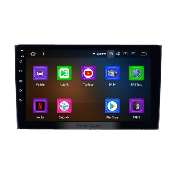 9 inch Android 9.0 for 2005 2006 2007-2014 Old Suzuki Vitara Radio with Bluetooth HD Touchscreen GPS Navigation System Carplay support TPMS