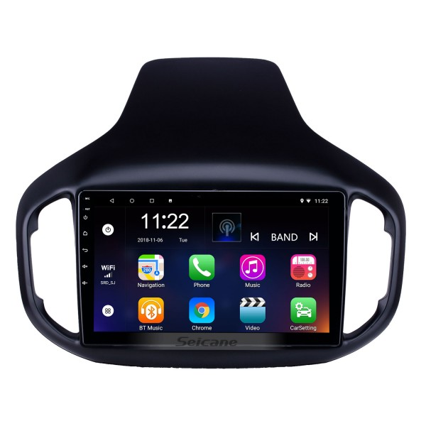10.1 inch Android 10.0 GPS Navigation Radio for 2016-2018 Chery Tiggo 7 with HD Touchscreen Bluetooth USB support Carplay TPMS