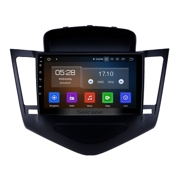 2013-2015 chevy Chevrolet CRUZE Android 9.0 9 inch GPS Navigation Bluetooth Radio with USB FM Music Carplay support Steering Wheel Control 4G Backup camera