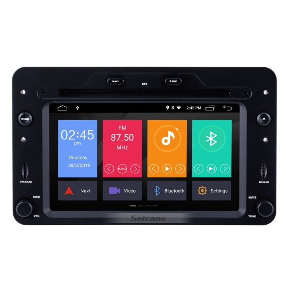 Android 9.0 2005 onwards Alfa Romeo 159 Sportwagon  GPS Navigation System Radio DVD Player Bluetooth TV Tuner DVR USB SD 4G WIFI Rearview Camera 1080P Video