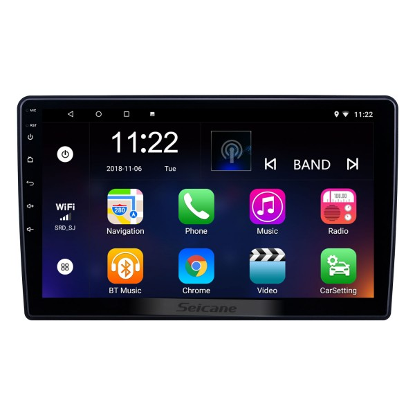 10.1 inch HD Touchscreen Android 8.1 GPS Navigation Radio for Dodge/Jeep/Chrysler Universal With Bluetooth support Carplay DVR