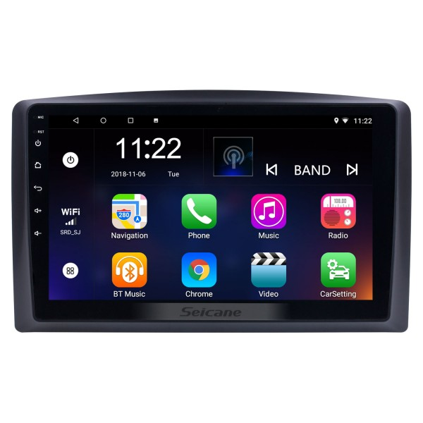 10.1 inch Android 8.1 for 2010 2011 2012-2015 Mercedes Benz Vito Radio Bluetooth HD Touchscreen GPS Navigation System support Carplay TPMS