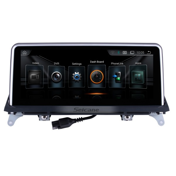 10.25 inch Android 10.0 for BMW X5 E70/X6 E71(2011-2014) CCC Radio HD Touchscreen GPS Navigation System with Bluetooth support Carplay DVR