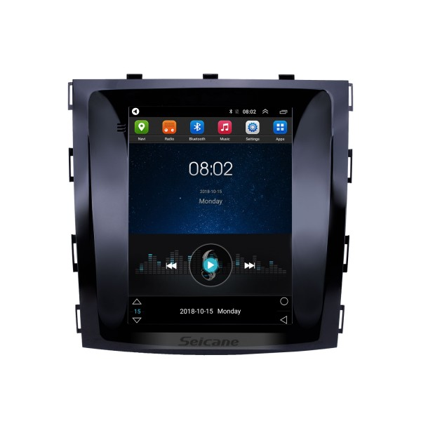 OEM 9.7 inch Android 9.1 2015-2017 Great Wall Haval H9 GPS Navigation Radio with Touchscreen Bluetooth WIFI support TPMS Carplay DAB+