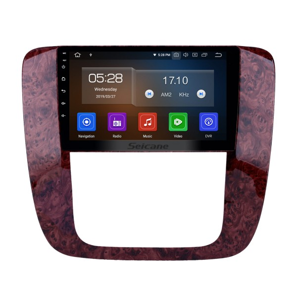 Android 10.0 9 inch GPS Navigation Radio for 2007-2012 GMC Yukon/Acadia/Tahoe Chevy Chevrolet Tahoe/Suburban Buick Enclave with HD Touchscreen Carplay Bluetooth support OBD2