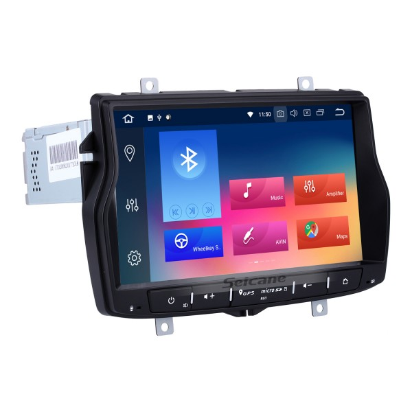 Android 9.0 In dash Radio 8 Inch HD Touchscreen For 2010-2017 Lada Vesta GPS Navigation Bluetooth Music USB Audio system Support Backup Camera Digital TV DVR Steering Wheel Control