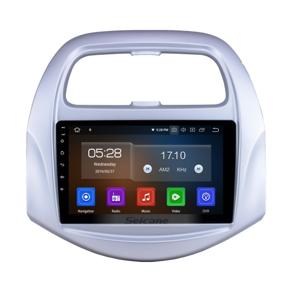 2018-2019 Chevy Chevrolet Spark Android 9.0 9 inch GPS Navigation Radio Bluetooth HD Touchscreen USB Carplay Music support TPMS DAB+ 1080P Video