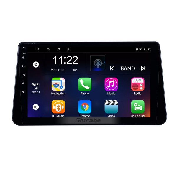 10.1 inch Android 8.1 GPS Navigation Radio for 2017-2019 Nissan Kicks With HD Touchscreen Bluetooth support Carplay TPMS