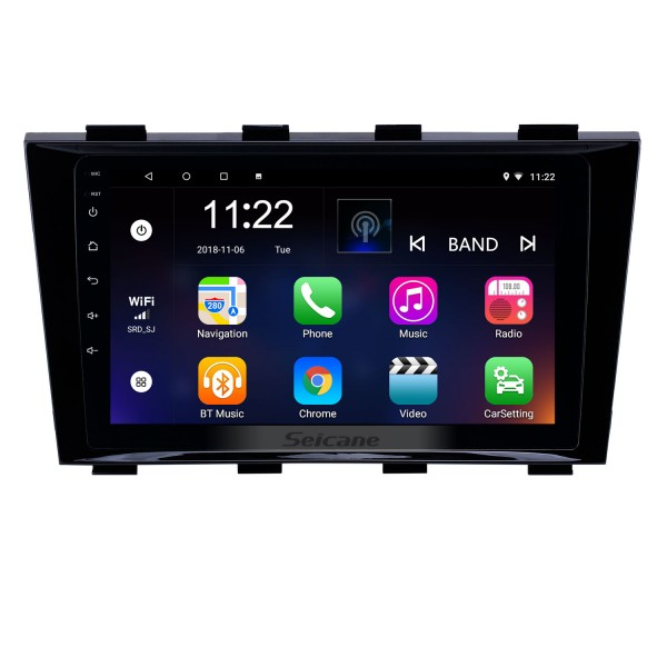 HD Touchscreen 9 inch Android 8.1 GPS Navigation Radio for 2009-2015 Geely Emgrand EC8 with Bluetooth AUX support Carplay TPMS
