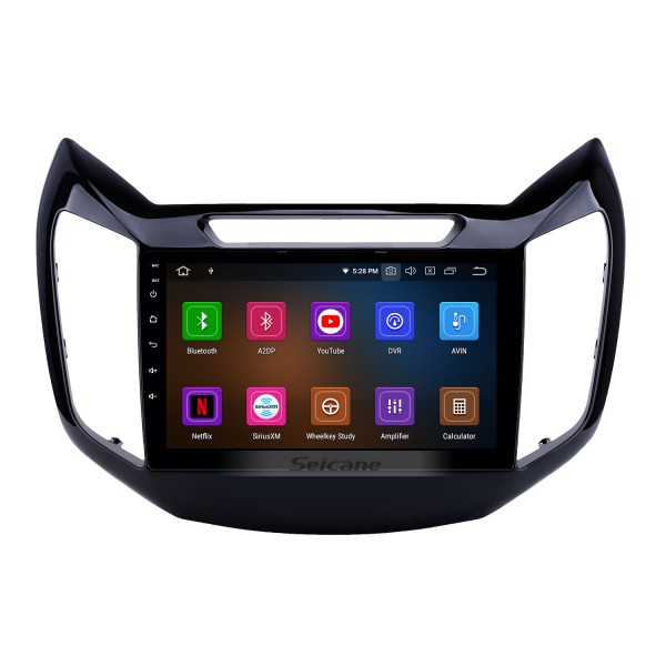 OEM 9 inch Android 9.0 Radio for 2017 Changan EADO Bluetooth HD Touchscreen GPS Navigation Carplay support Rearview camera TPMS