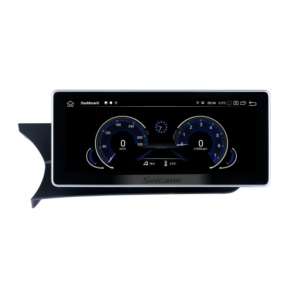 10.25 inch Andriod 10.0 HD Touchsreen 2011-2014 Mercedes Benz C Class Left-hand Driving W204 S204 C180 C200 C220 C250 C260 C280 C300 C350 C400 C450 C43AMG C63AMG GPS Navigation System with Bluetooth support Carplay