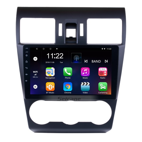 9 Inch 1024*600 Touchscreen 2014 2015 2016 Subaru Forester Android 8.1 Radio GPS Navigation System Bluetooth Rearview camera 3G WIFI Mirror link Steering Wheel Control