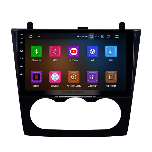 9 inch OEM HD Touchscreen Android 9.0 GPS Navi Radio for 2008-2012 Nissan Teana Altima Manual A/C Head unit USB Bluetooth 4G WIFI Mirror Link SWC DVR