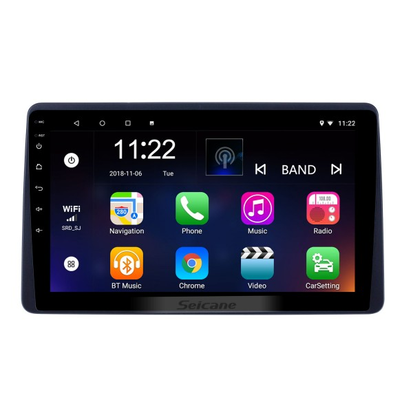 10.1 inch Android 8.1 GPS Navigation Radio for 2018 Renault Duster with HD Touchscreen Bluetooth support Carplay Steering Wheel Control