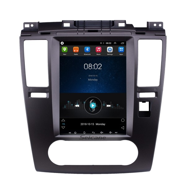 9.7 inch Android 9.1 2005-2010 Nissan Tiida GPS Navigation Radio with Touchscreen Bluetooth AUX WIFI Music support OBD2 DVR Carplay Mirror Link