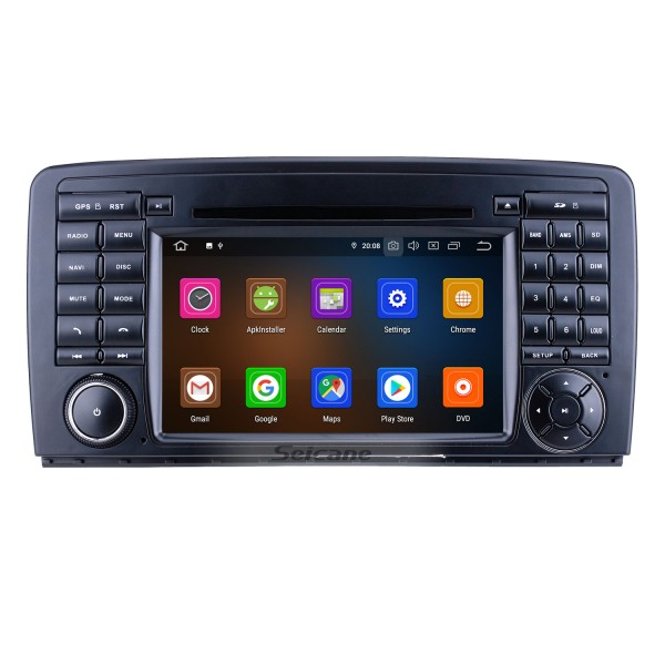 7 inch Android 9.0 for 2006 2007 2008-2013 Mercedes Benz R Class W251 R280 R300 R320 R350 R500 R63 Radio GPS Navigation with HD Touchscreen Carplay Bluetooth support DVR