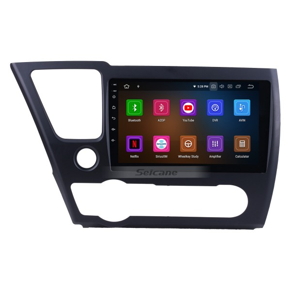 HD Touchscreen GPS navigation Android 9.0 radio for 2014 2015 2016 2017 Honda Civic (LHD) American Version TV Bluetooth Music Phone USB Carplay WIFI SWC