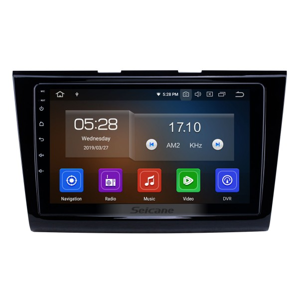 2015-2018 Ford Taurus Android 9.0 9 inch GPS Navigation Radio Bluetooth HD Touchscreen USB Carplay support DVR DAB+ OBD2 SWC