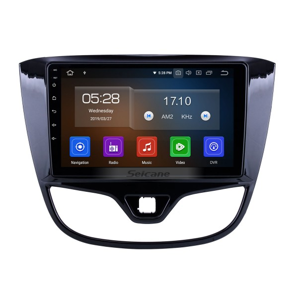 9 inch For 2017 Opel Karl/Vinfast Radio Android 10.0 GPS Navigation System Bluetooth HD Touchscreen Carplay support Digital TV