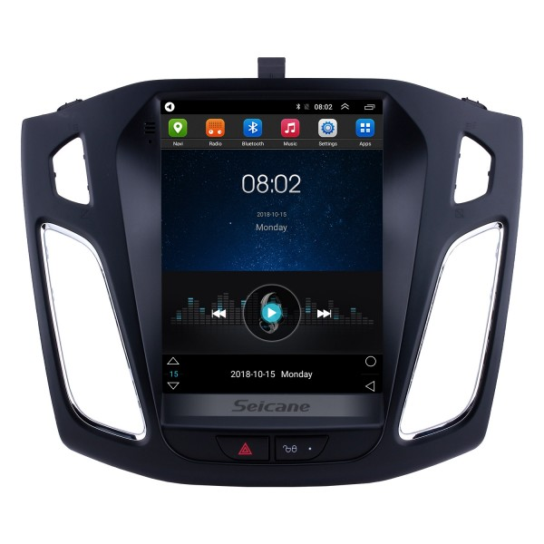Android 6.0 2012 2013 2014 2015 Ford Focus 9.7 inch HD Touchscreen Car Stereo Radio Head Unit GPS Navigation Bluetooth Support Steering Wheel Control USB WIFI OBD2 Rearview Camera