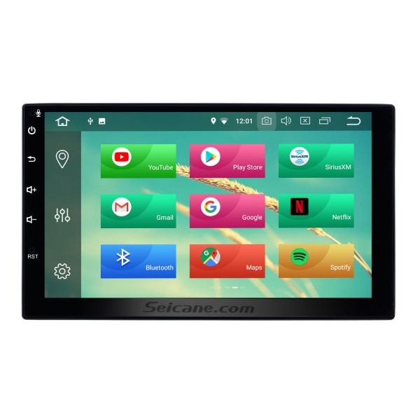 Android 8.0 2 Din Universal NISSAN TOYOTA Honda Radio GPS Navigation System Car Stereo with Mirror Link WiFi DVD Player Bluetooth 1080P Video USB