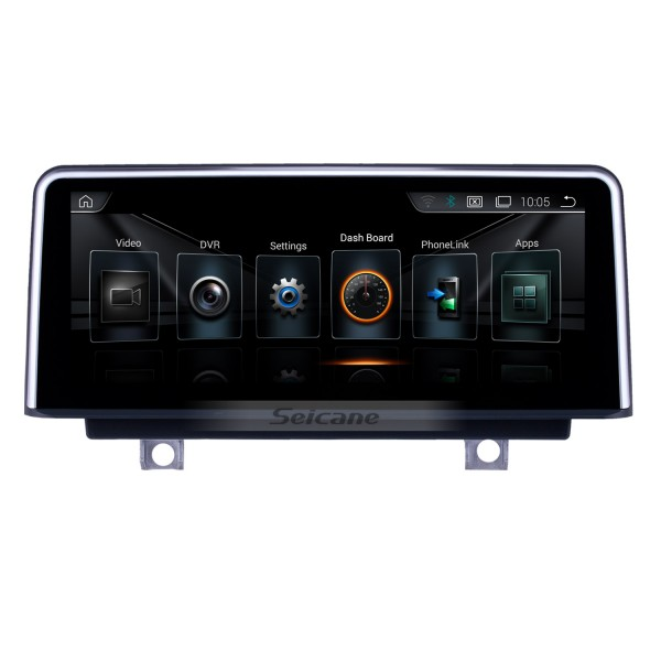 10.25 Inch Android 8.1 HD Touchscreen 2013-2016 BMW 4 Series F32/F33/F36 NBT GPS Radio Head Unit Bluetooth Music Support WIFI Rearview Camera Steering Wheel Control USB OBD2